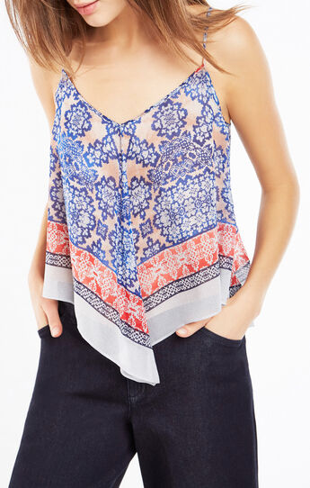 Kassidee Blossoms Print Tank Top