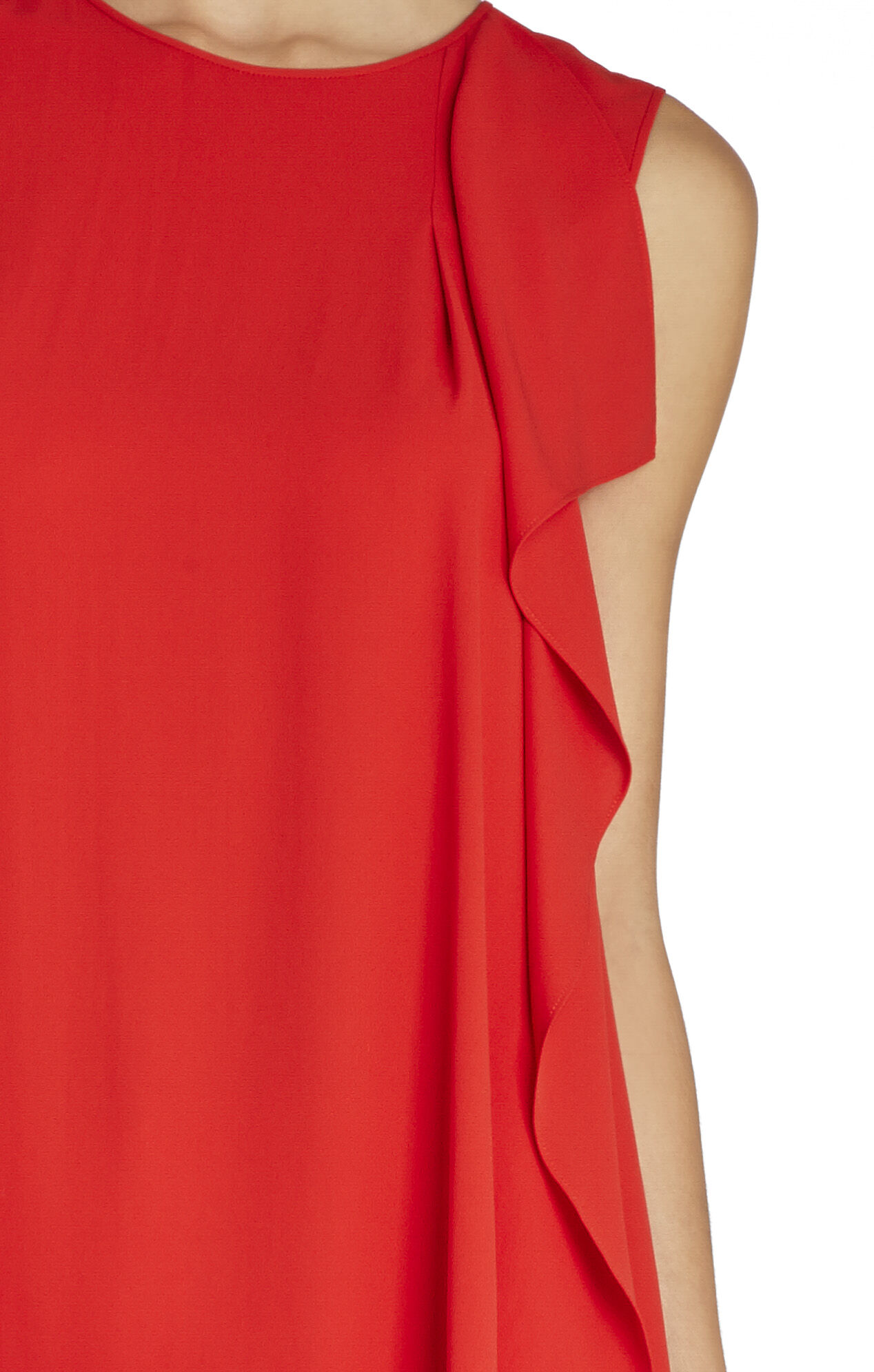 Edythe Cascade-Draped Top