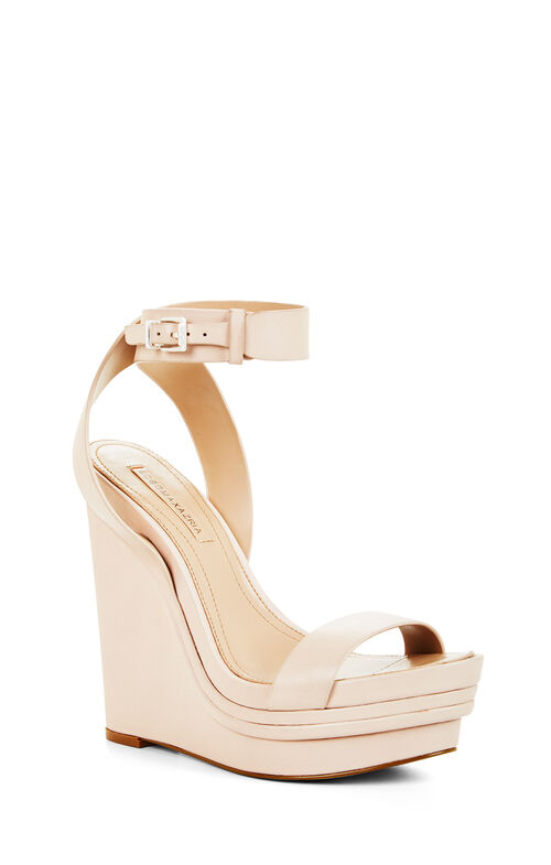 Lance Leather Wedge Sandal