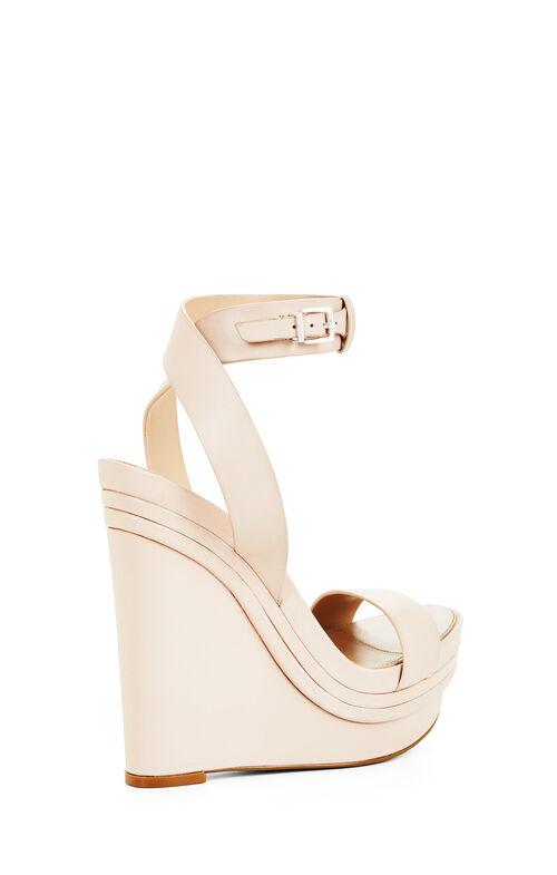 Lance Leather Wedge Sandal