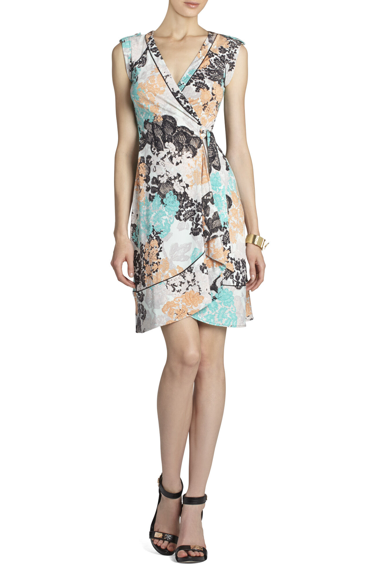 Lylee Printed Wrap Dress