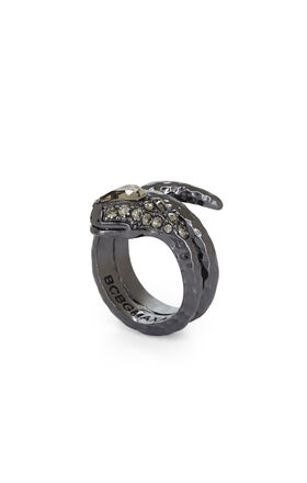 Hammered Snake Ring
