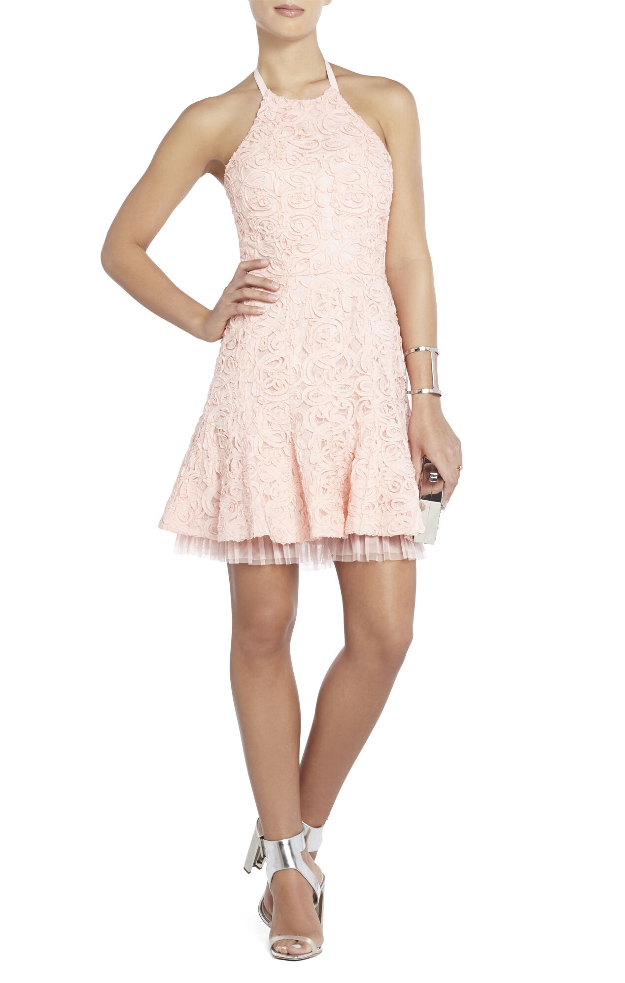 Basanti Sleeveless Flared-Skirt Dress