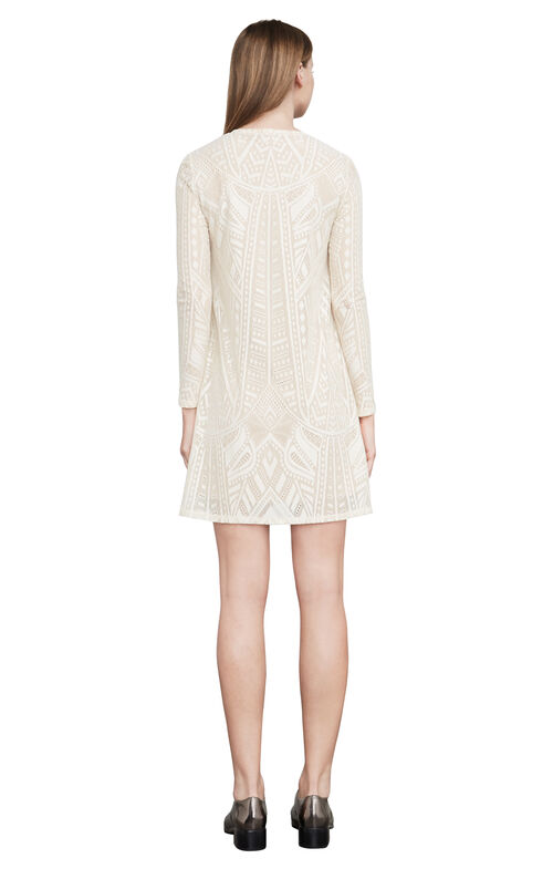 Natyly Long-Sleeve Lace Dress