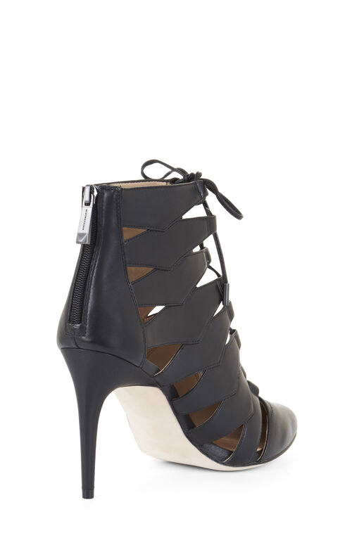 Bren Lace-Up Leather Pump