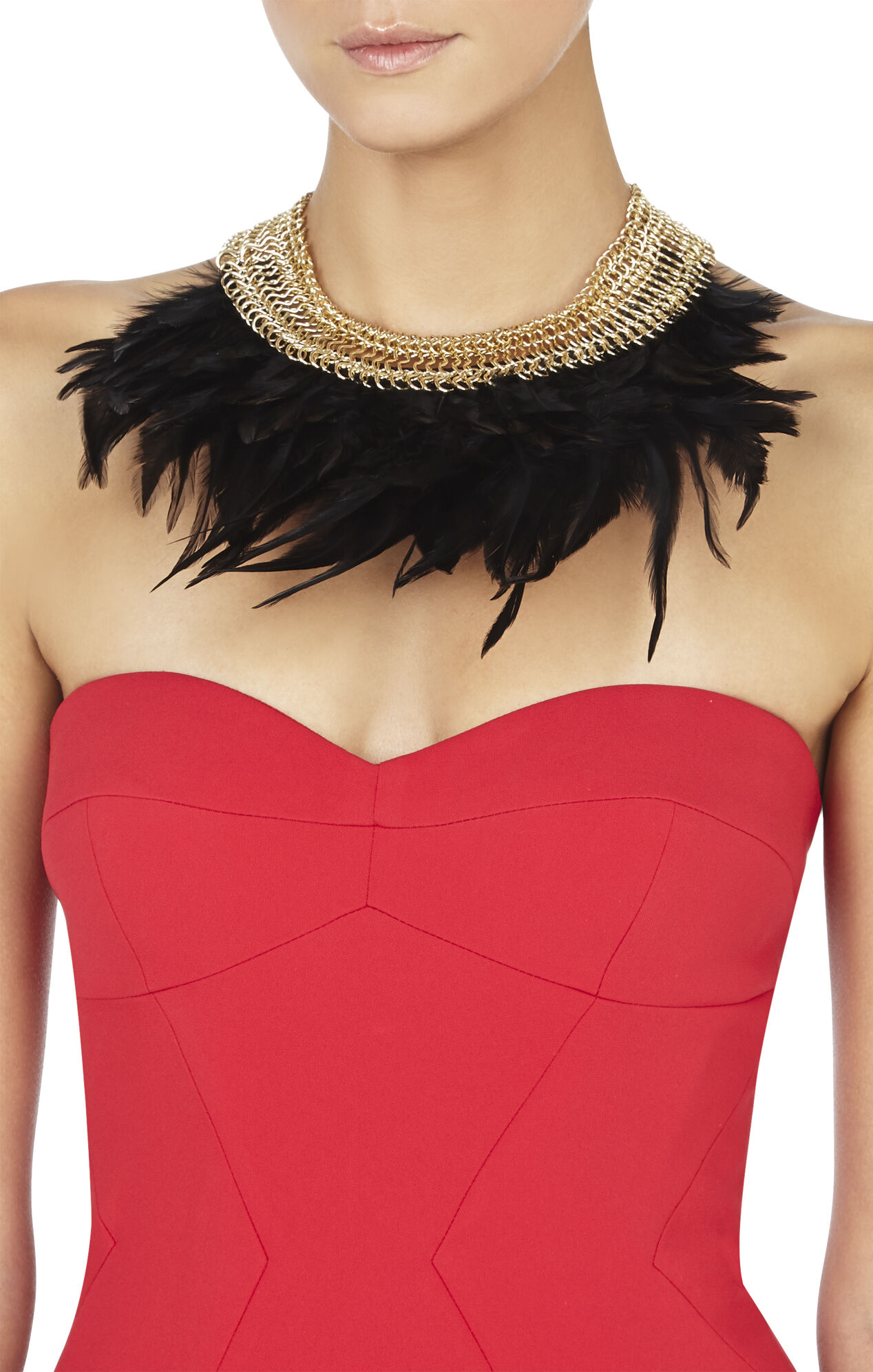 Feather Collar Necklace