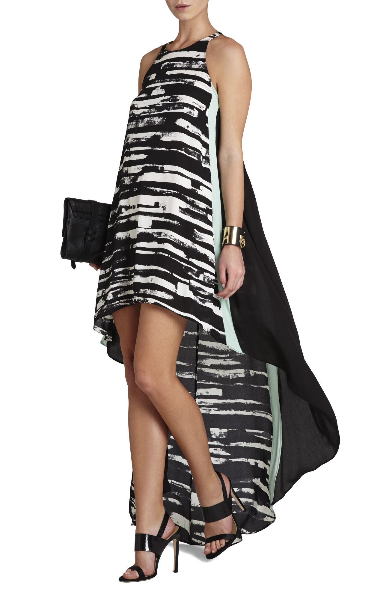 Malisa Sleeveless Color-Blocked Dress