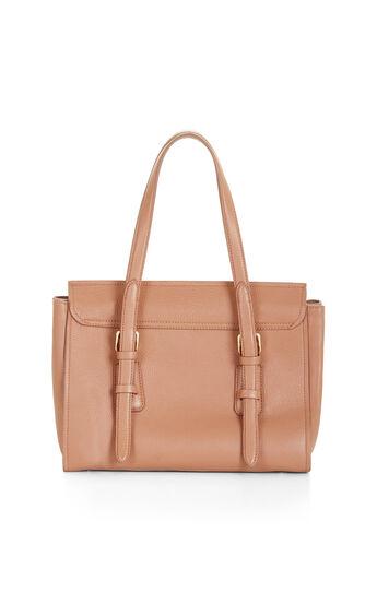 Gabi Medium Leather Satchel