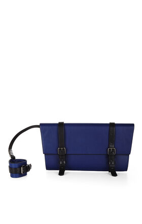 Jagger Buckle-Strap Clutch