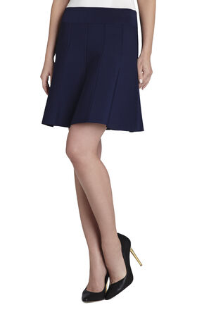 Vida Paneled A-Line Skirt