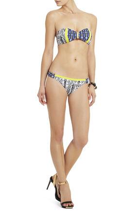 Urban Contrast Bandeau Bikini Top