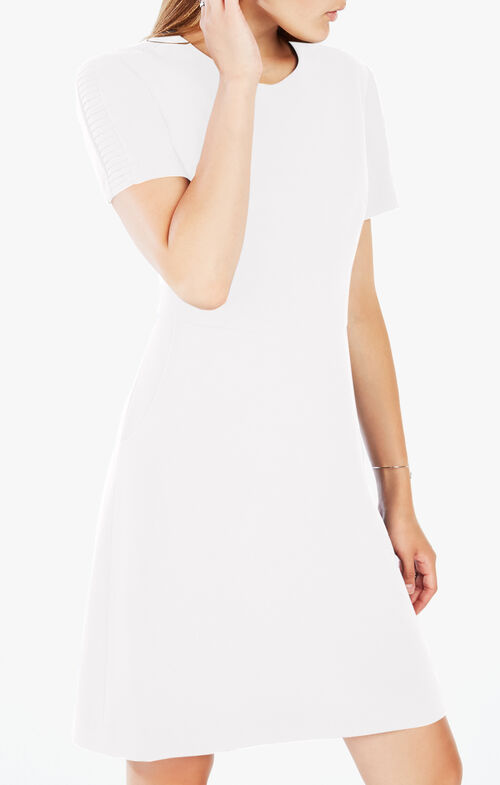 Jeanette Short-Sleeve Dress