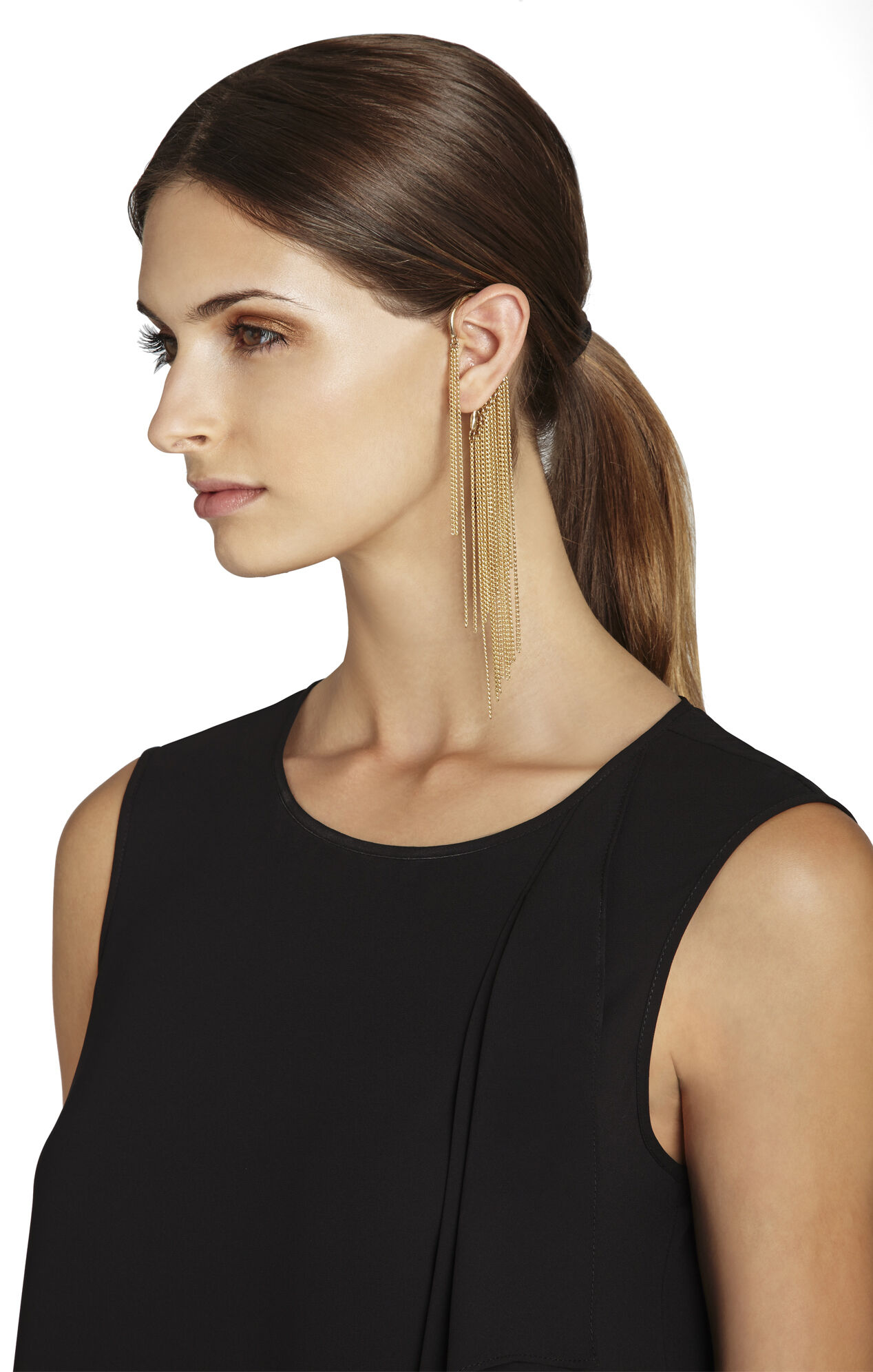Multichain Ear Cuff