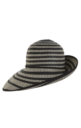 Curved-Brim Hat