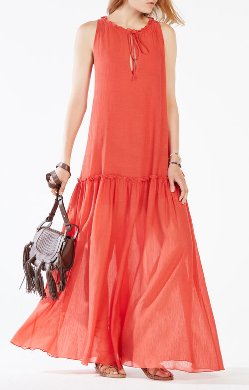 Galiana Drop-Waist Maxi Dress