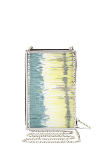 Deven Lucite Box Clutch