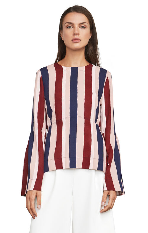 Jeanne Striped Top