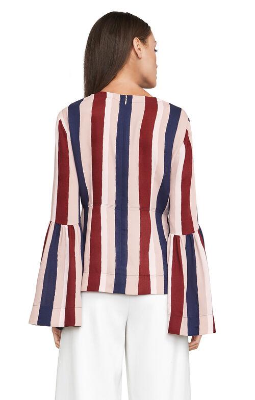 Jeanne Striped Top