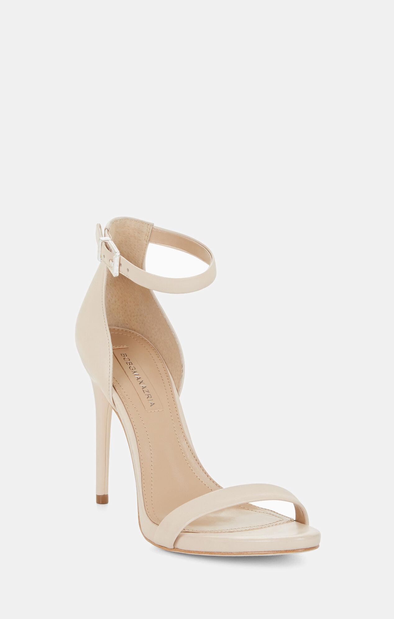Dona High-Heel Leather Sandal