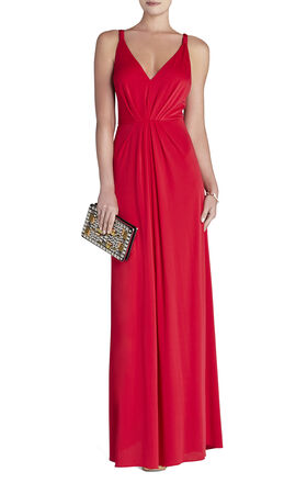 Hali V-Neck Gown