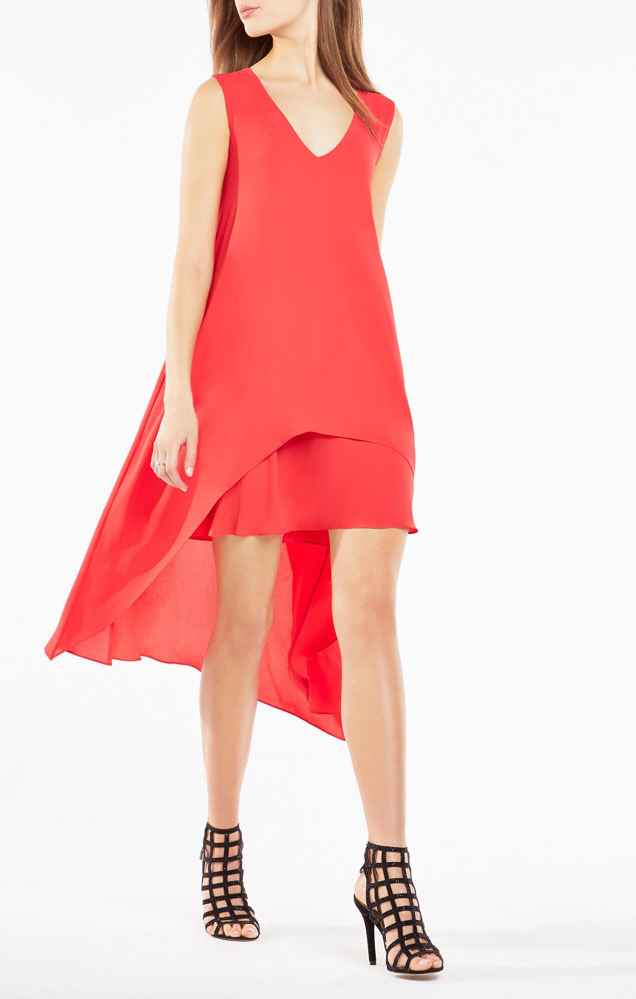 Kaira Asymmetrical Layered Dress