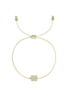 Small Pave Icon Bracelet