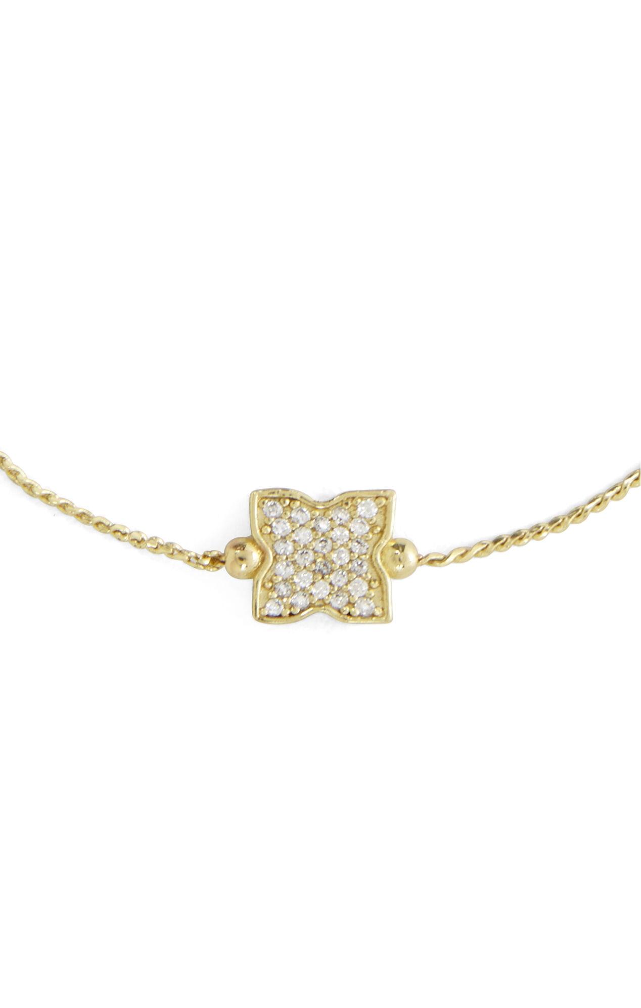 Small Pave Icon Bracelet
