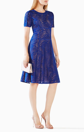 Della Lace Midi Dress