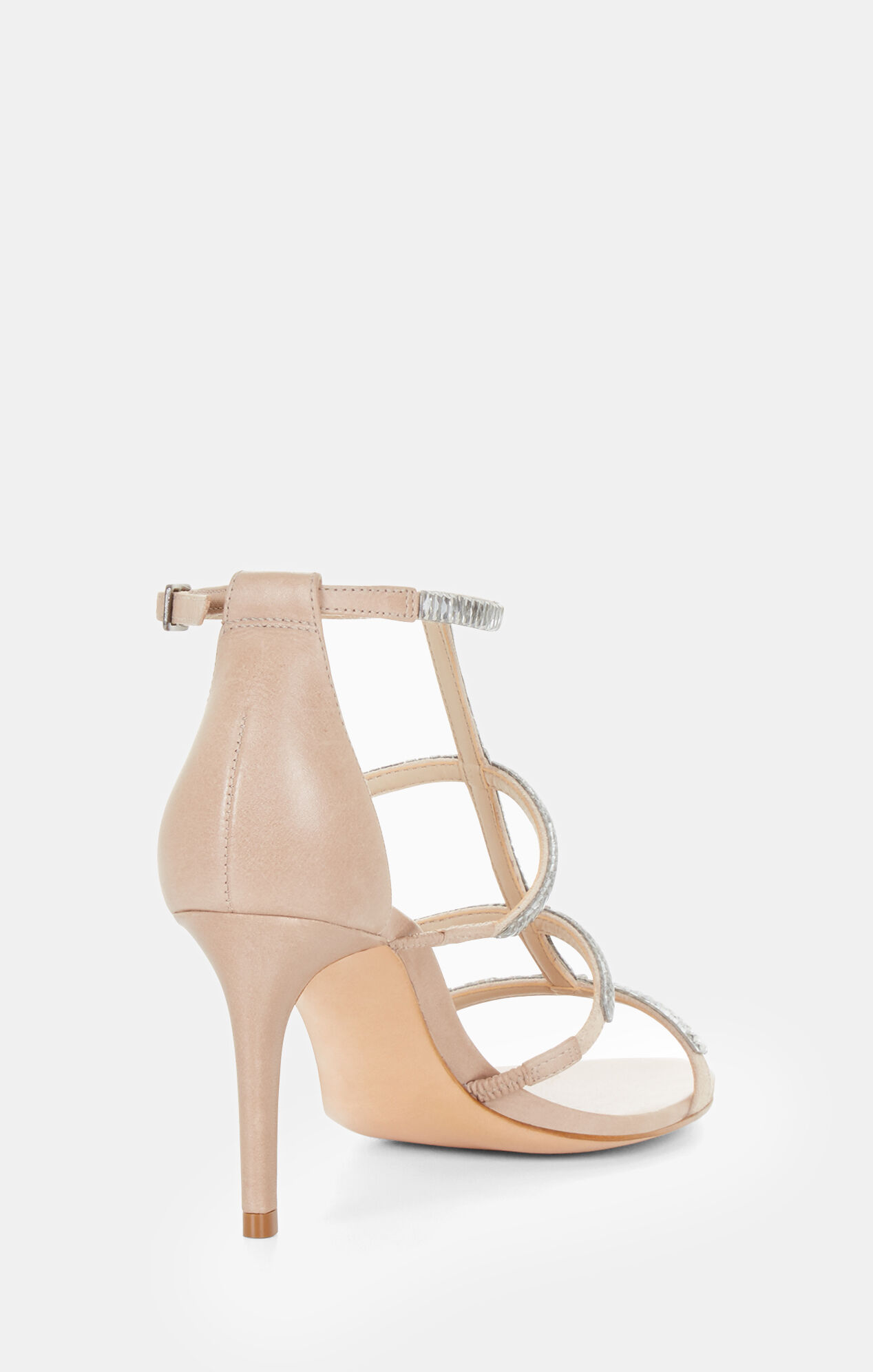 Edel Crystal Leather Sandal