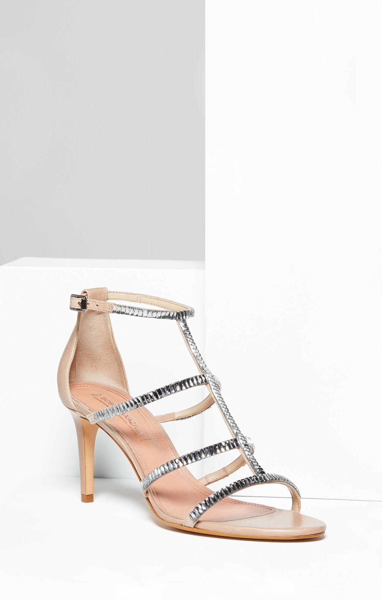Edel Crystal Leather Sandal