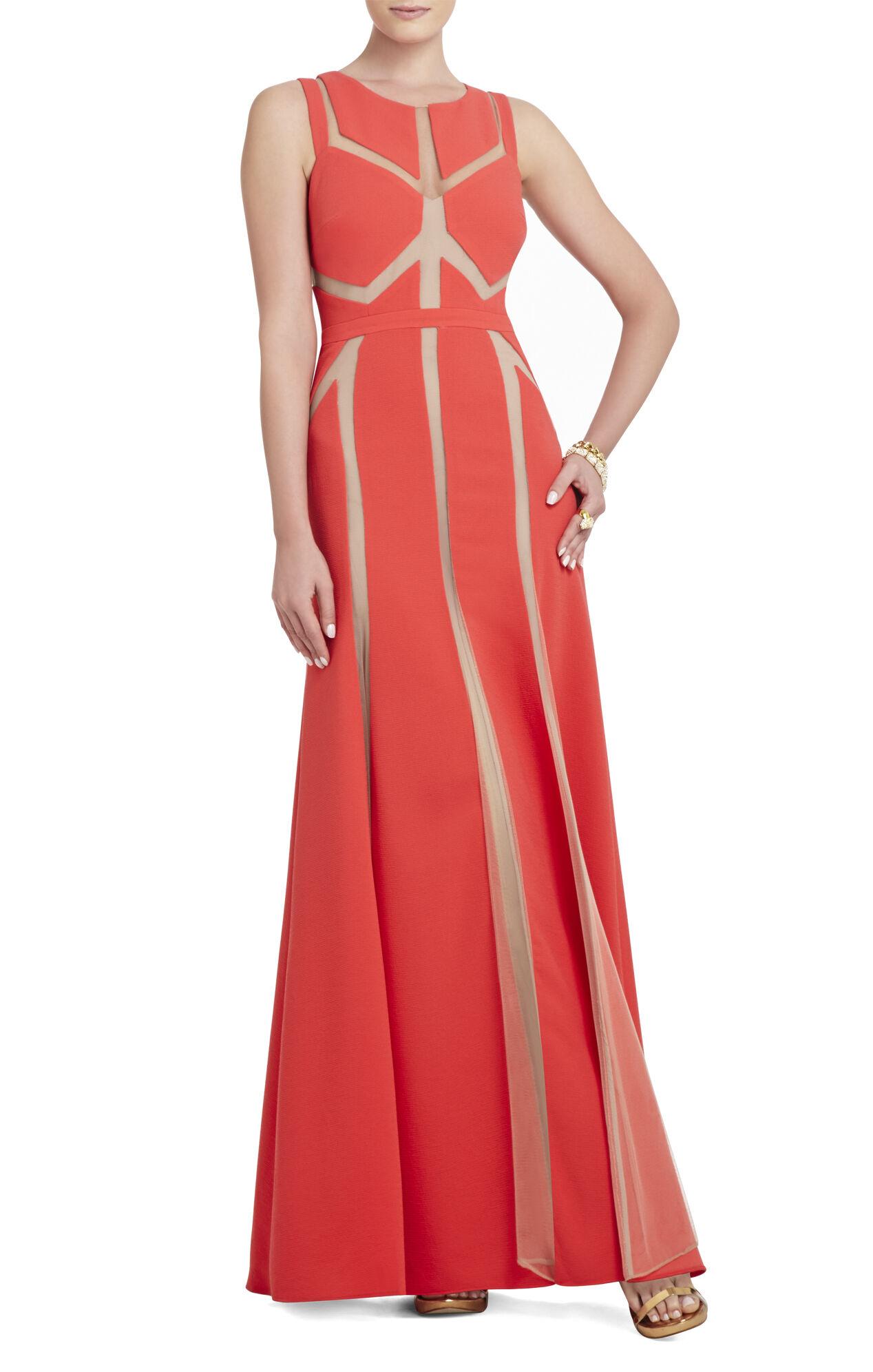 Imogen Tulle-Insert Gown