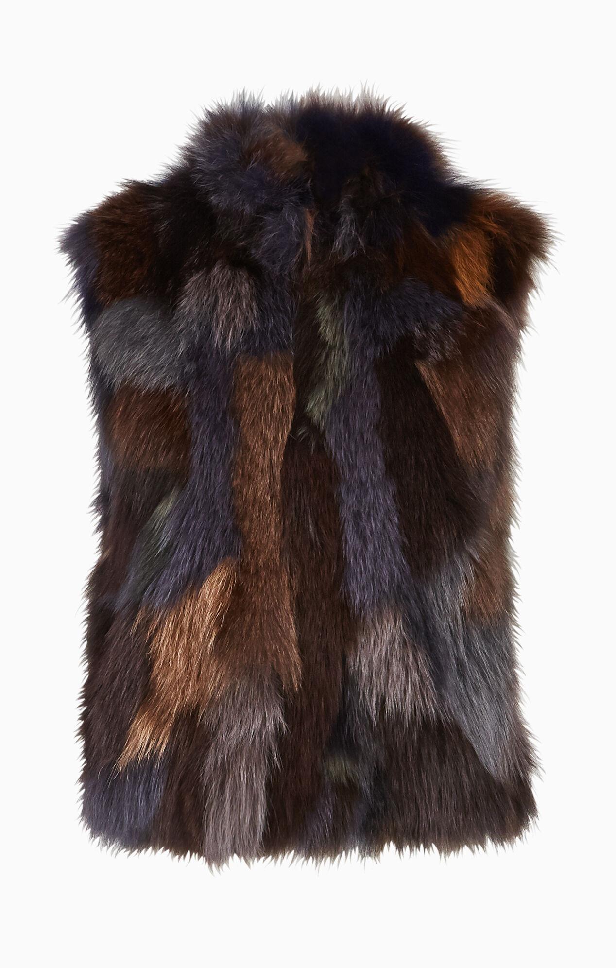Hudson Fur Vest