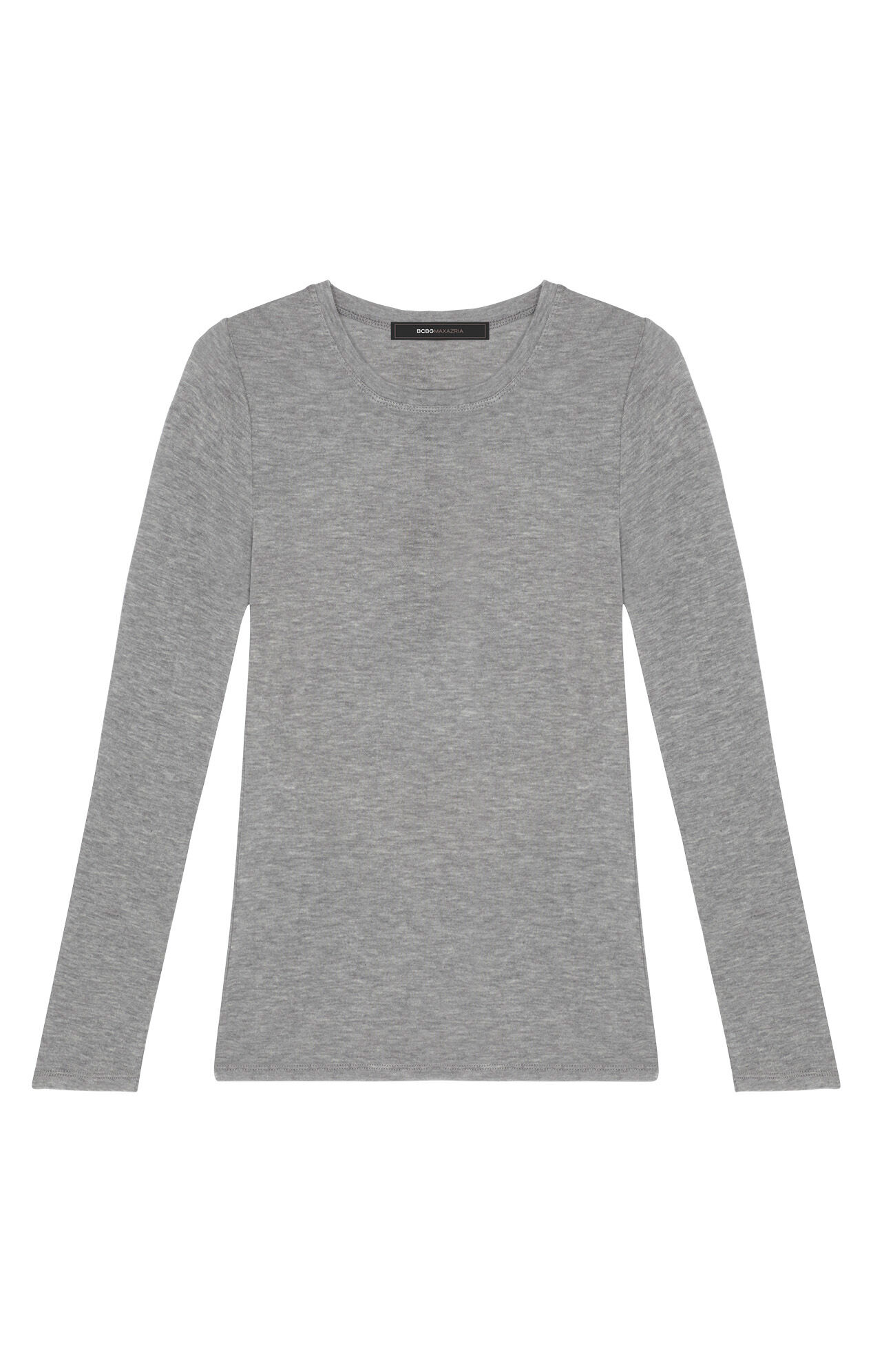 Agda Crewneck Long-Sleeve Tee