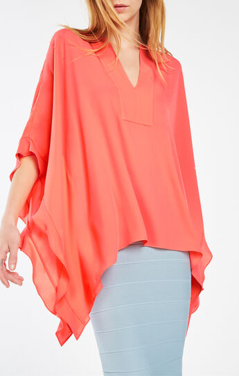 Dove Ruffle Kaftan Top