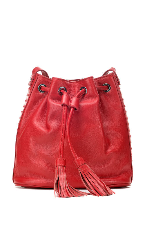 Kaycie Drawstring Bucket Bag