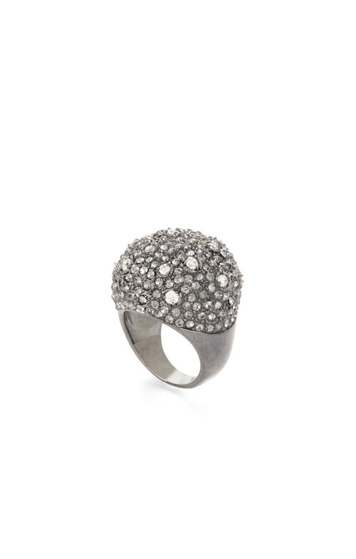 Pave Domed Ring