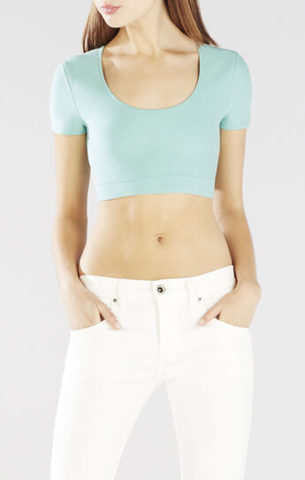 Maressa Fitted Crop Top