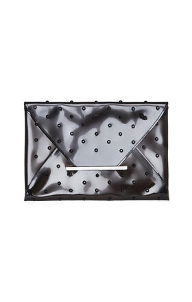Harlow Jewel-Studded Envelope Clutch