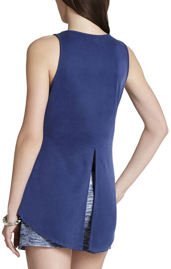 Caralyn Halter-Neck Open-Back Tank