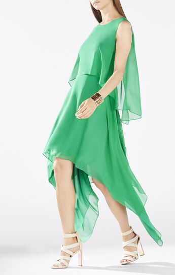 Marilee Draped Tiered Gown