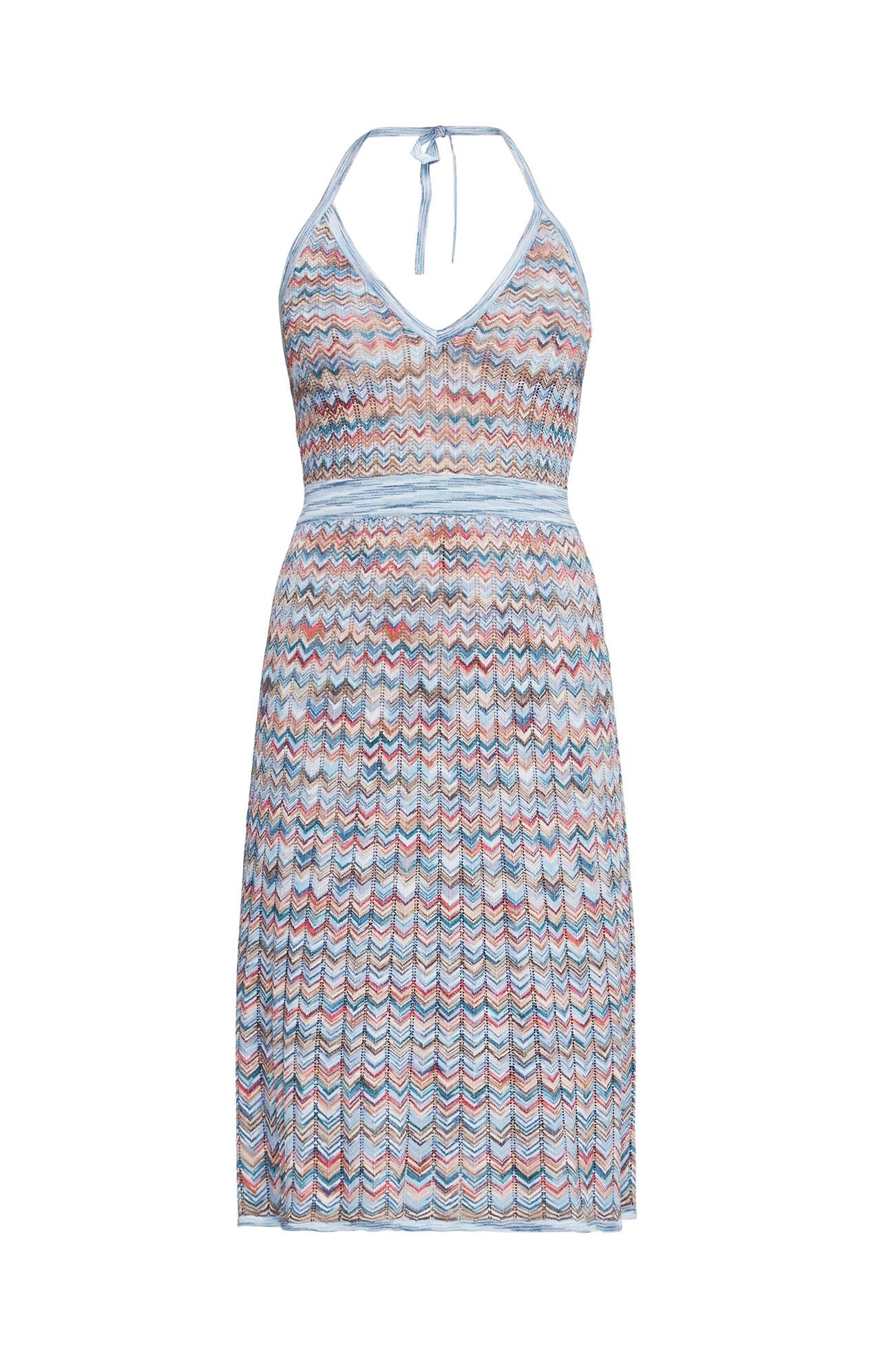Jenn Chevron A-Line Dress