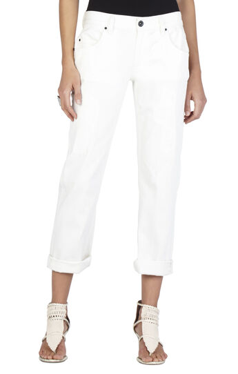 Billie Cropped Boyfriend Pant