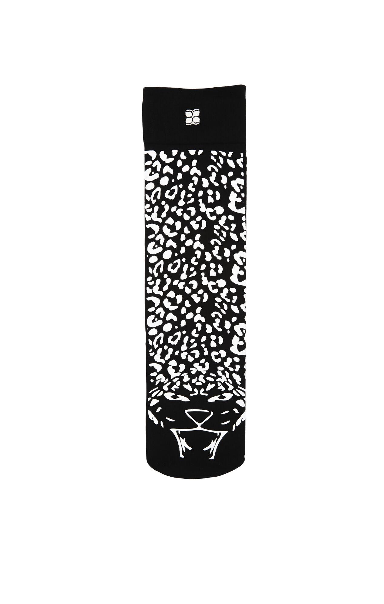 Cheetah Knee-High Socks