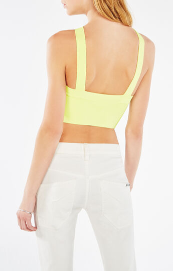 Jayla Crossover Crop Top