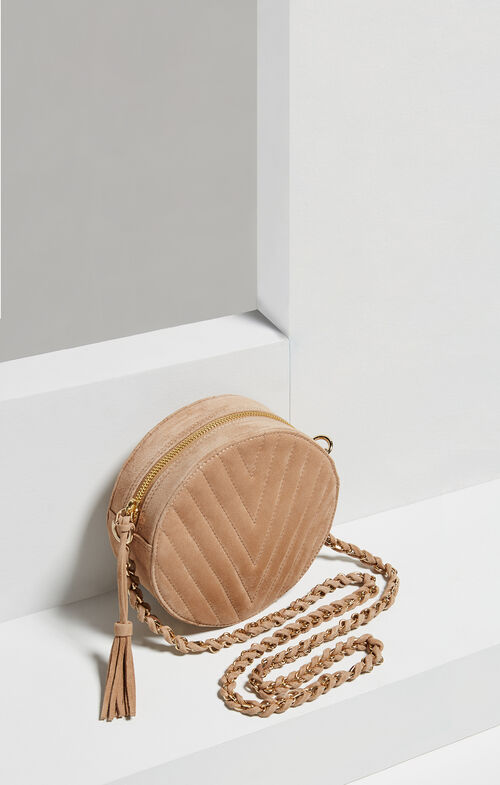 Chantel V-Quilt Round Bag