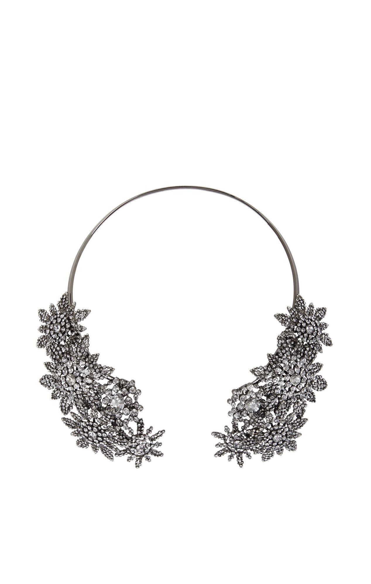 Floral Cluster Collar