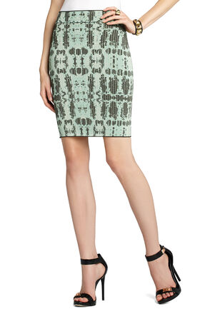 Scarlett Ink-Block Skirt