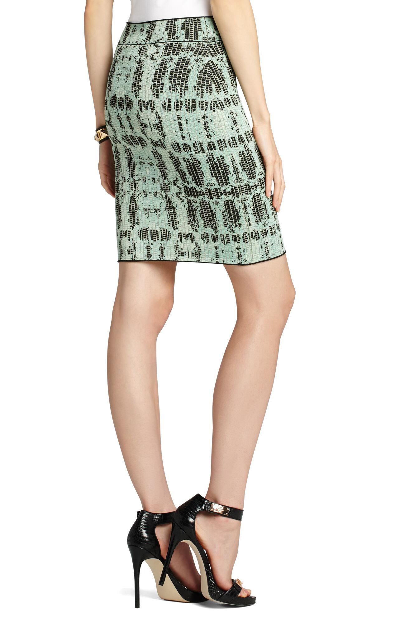Scarlett Ink-Block Skirt
