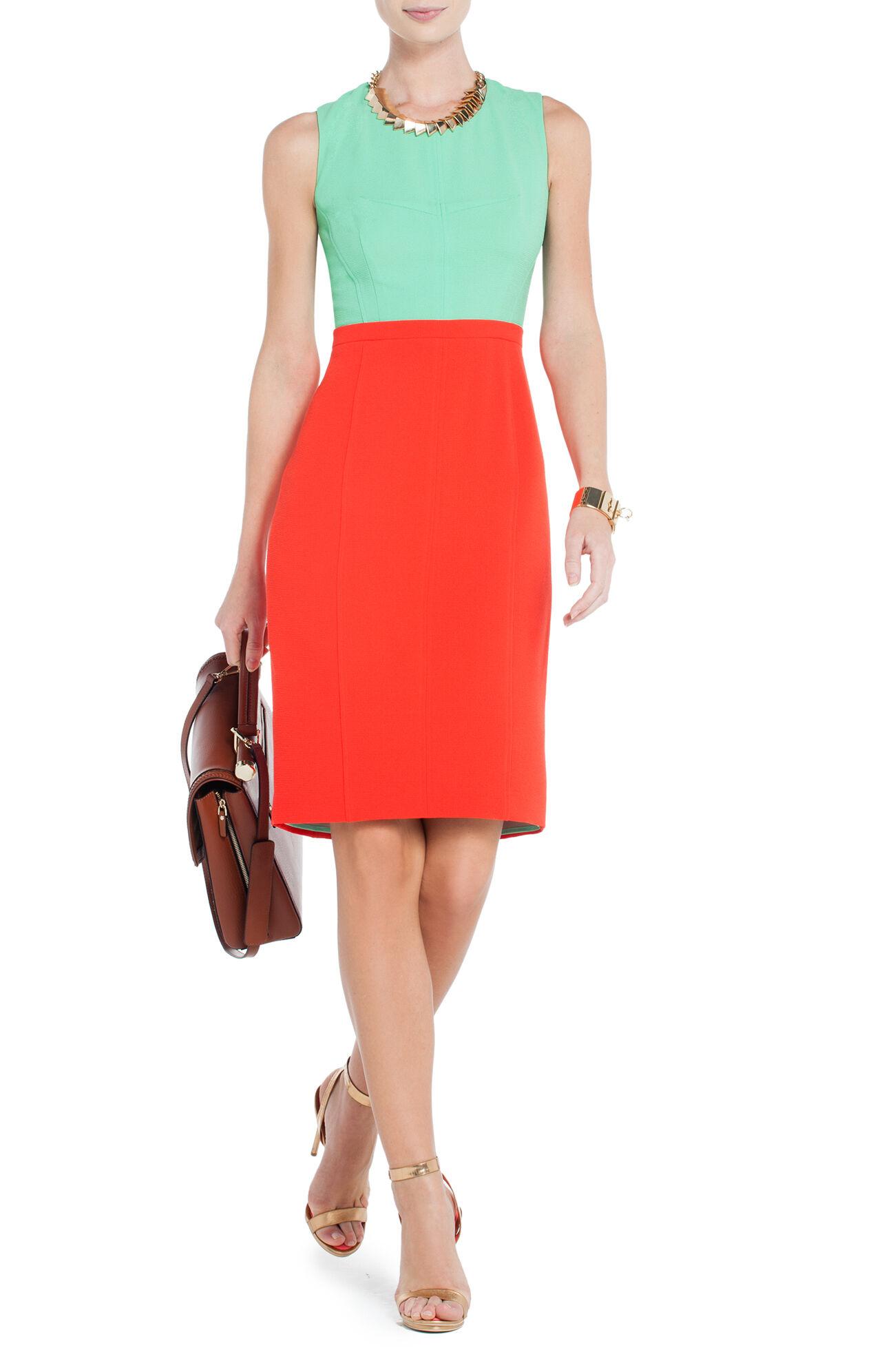 Blaire Color-Blocked Sheath Dress
