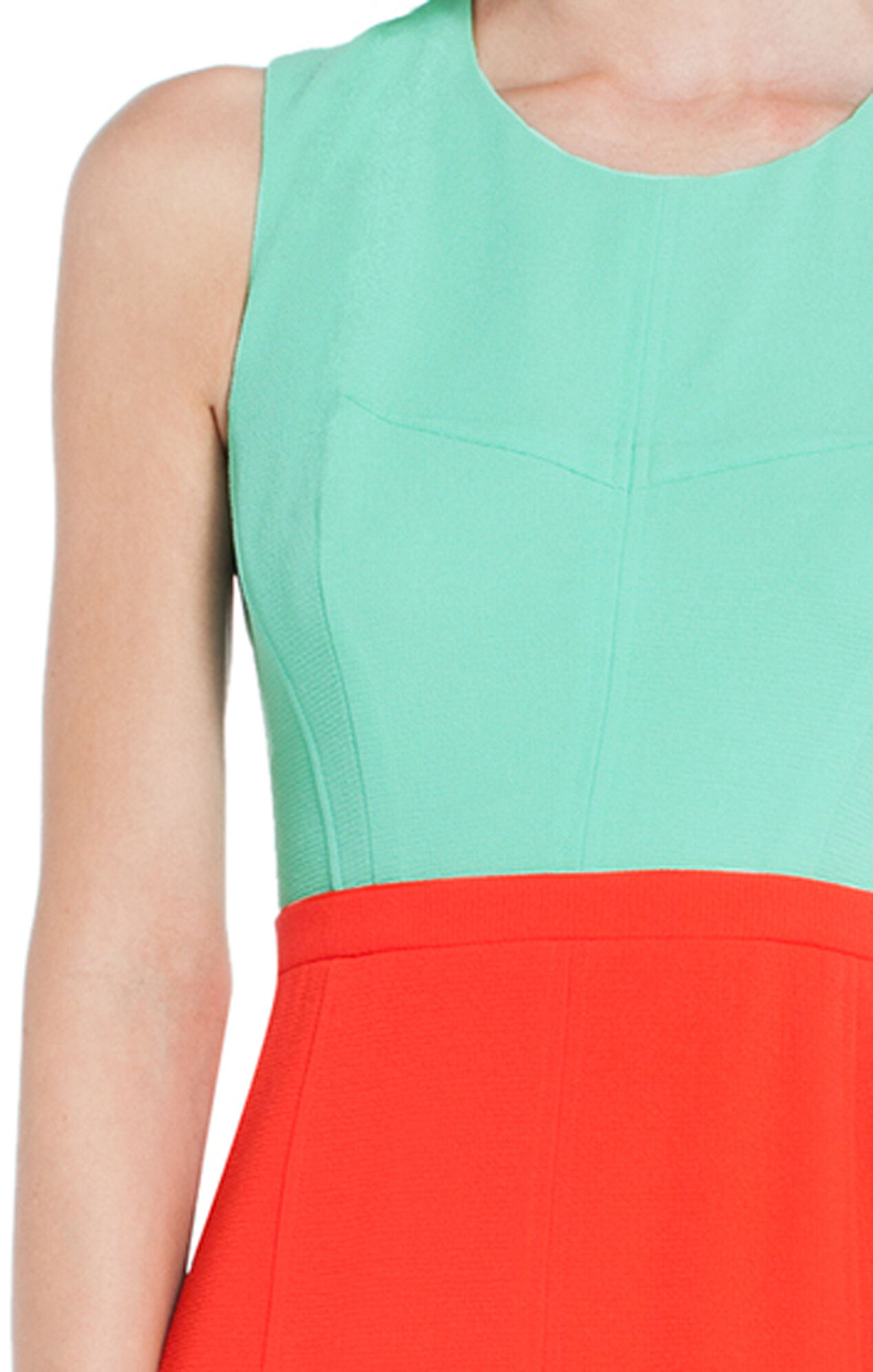 Blaire Color-Blocked Sheath Dress
